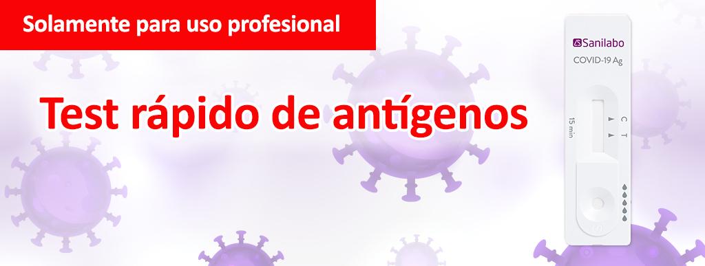 test antigenos para la detección rapida de covid19